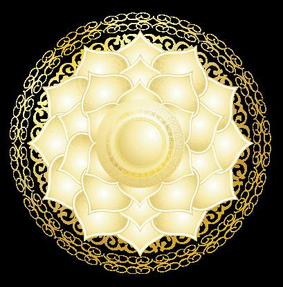 Detailed Crown Chakra Symbol