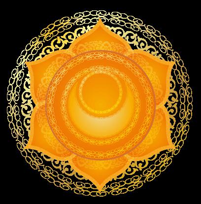 Detailed Sacral Chakra Symbol
