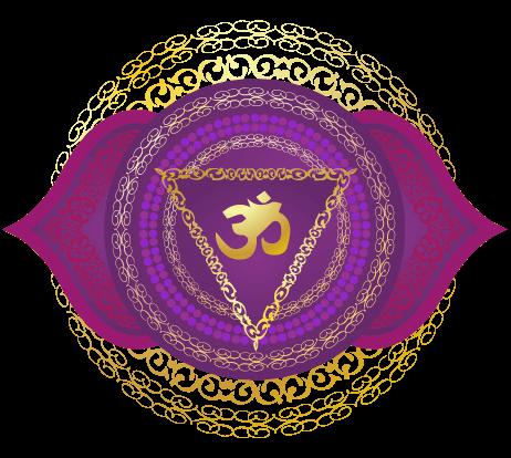 Detailed Third Eye Chakra Symbol